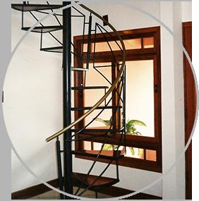Escadas de ferro por Obremet serralheria